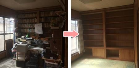 書斎の遺品整理