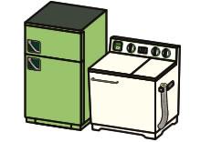 リサイクル家電指定品